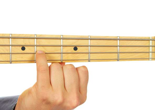 Bass Guitar The F Sharp Bass Note F Learn To Play Music