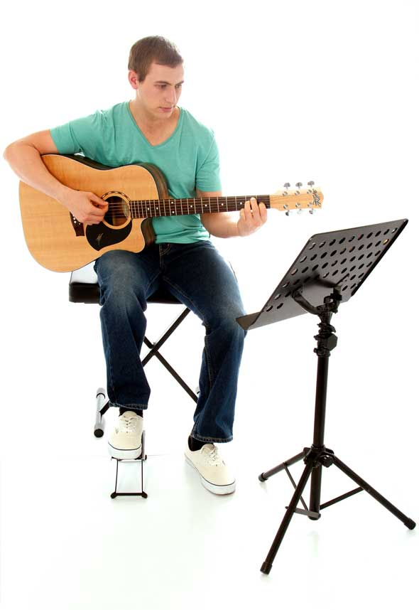 How To Hold The Guitar Learn To Play Music Blog