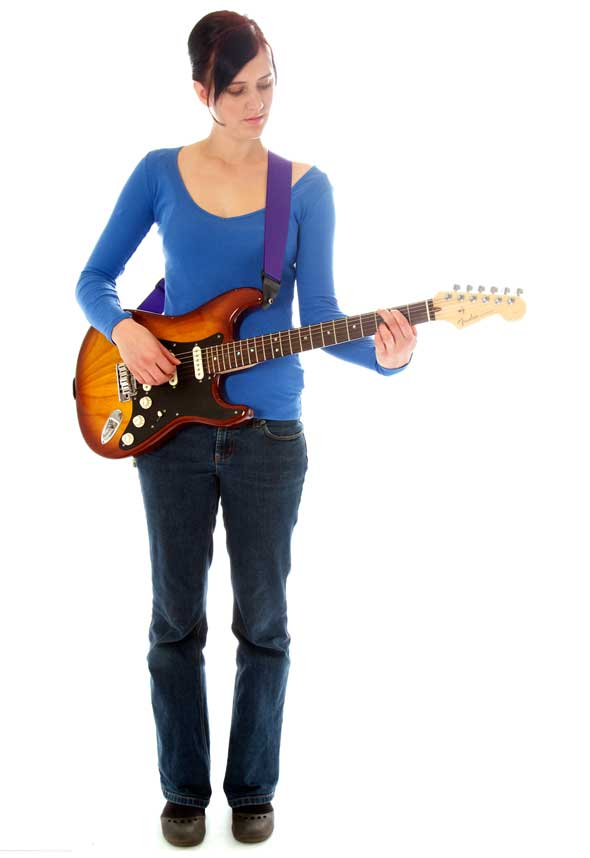 The Standing Position Is Particularly Good For Playing Electric Guitar But Can Also Be Used With An Acoustic And Essential If You Plan To Play