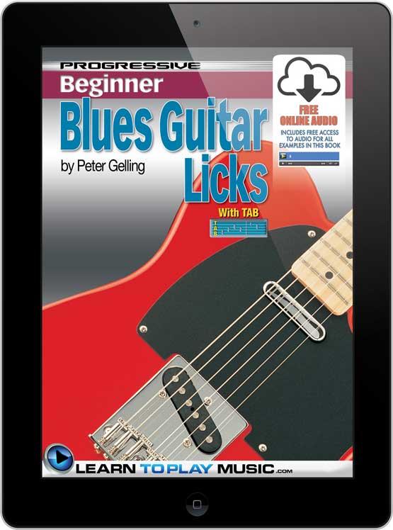 Progressive Beginner Blues Guitar Licks - Section 3 - Learn